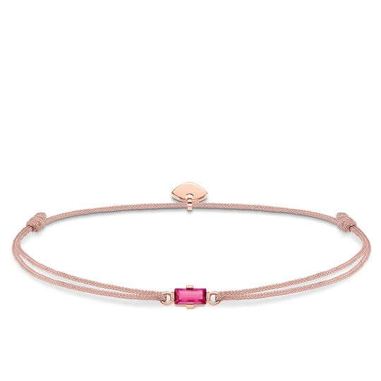 bracelet Little Secret Hot-pink stone Baguette cut from the Glam & Soul collection in the THOMAS SABO online store