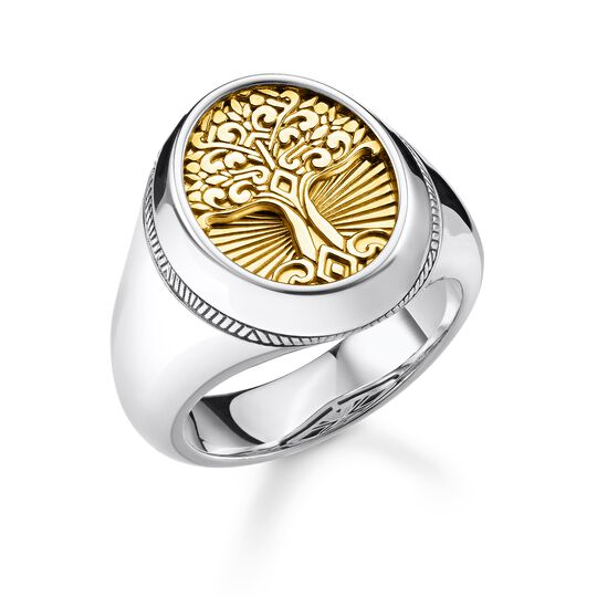 Ring Tree of Love gold aus der Rebel at heart Kollektion im Online Shop von THOMAS SABO