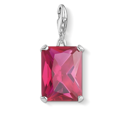 charm pendant large hot pink stone from the Charm Club Collection collection in the THOMAS SABO online store