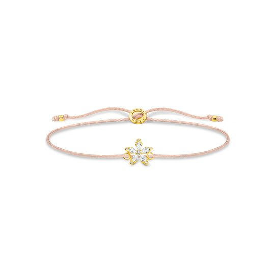 Bracelet Little Secret flower white stones from the Charming Collection collection in the THOMAS SABO online store