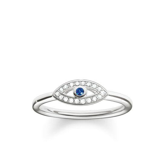 bague œil Nazar bleu de la collection Glam & Soul dans la boutique en ligne de THOMAS SABO