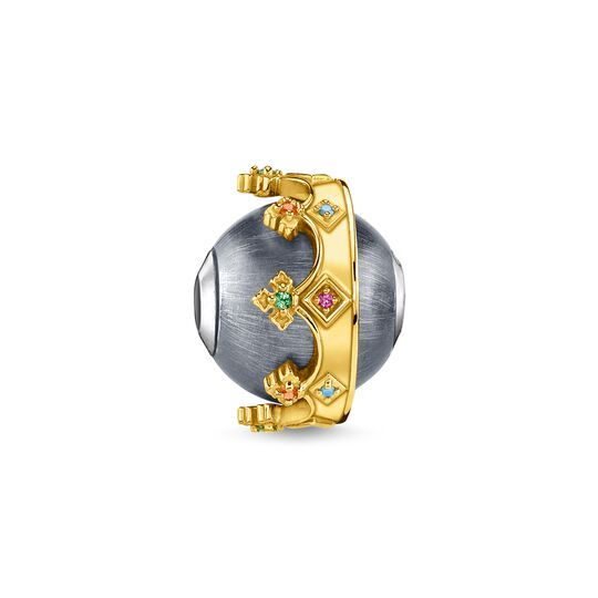 bead crown gold from the Karma Beads collection in the THOMAS SABO online store