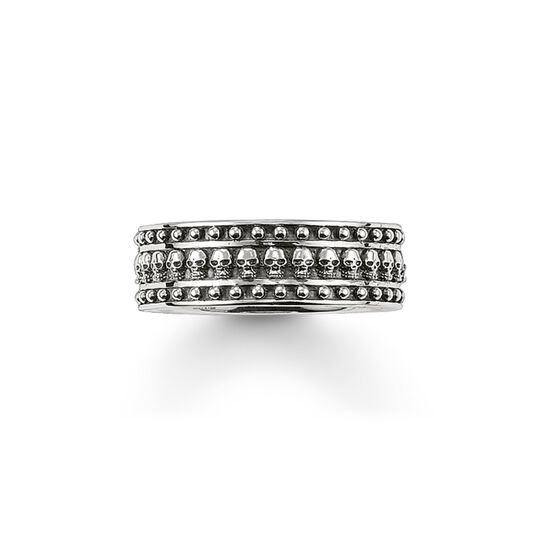 band ring skull from the  collection in the THOMAS SABO online store