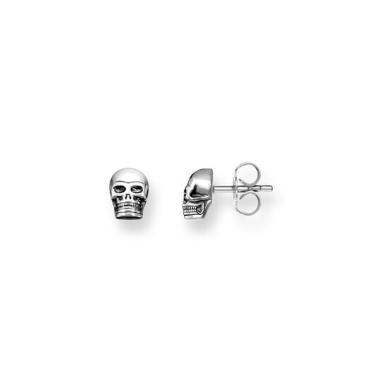 ear studs skull from the  collection in the THOMAS SABO online store