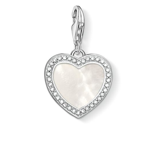 ciondolo Charm Cuore con madreperla from the  collection in the THOMAS SABO online store