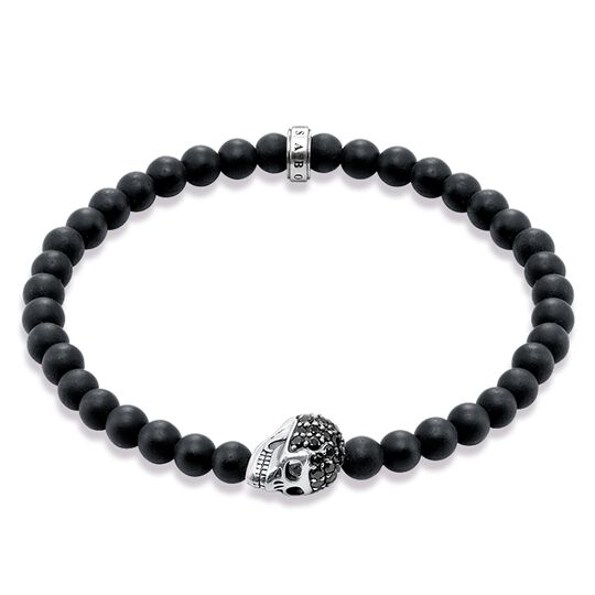 "bracelet ""tête de mort"" de la collection Rebel at heart dans la boutique en ligne de THOMAS SABO"