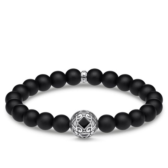bracelet ornament black from the Rebel at heart collection in the THOMAS SABO online store