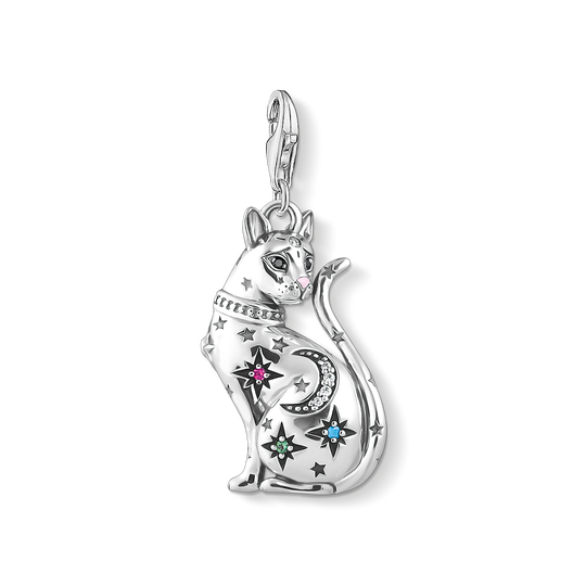 charm pendant cat constellation silver from the Charm Club collection in the THOMAS SABO online store
