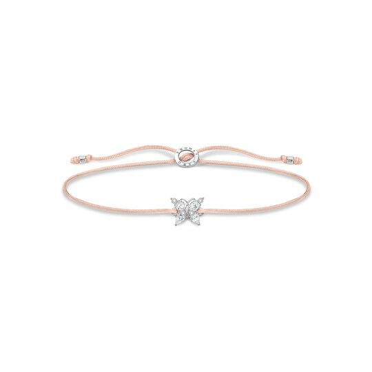 Bracelet Little Secret butterfly white stones from the Charming Collection collection in the THOMAS SABO online store