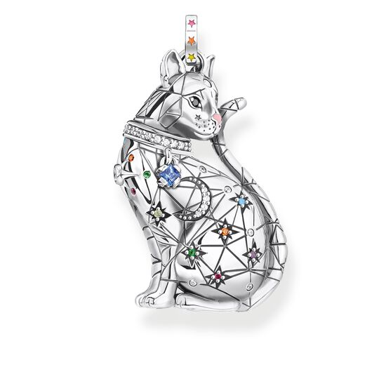 pendant cat constellation silver from the Glam & Soul collection in the THOMAS SABO online store