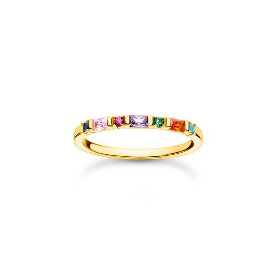 Bague pierres colorées or de la collection Charming Collection dans la boutique en ligne de THOMAS SABO