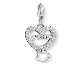 """Charm pendant """"DAUGHTER"""" from the  collection in the THOMAS SABO online store"""