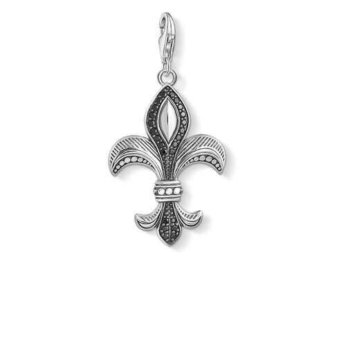 """Charm pendant """"fleur-de-lis"""" from the  collection in the THOMAS SABO online store"""