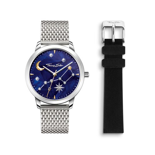 Women's watch Spirit Cosmos starry sky silver from the  collection in the THOMAS SABO online store