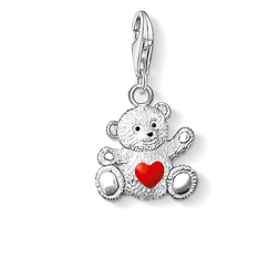 Charm pendant bear from the Charm Club Collection collection in the THOMAS SABO online store