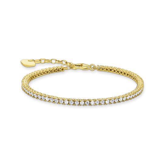 Tennis bracelet gold from the  collection in the THOMAS SABO online store