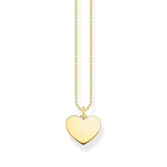 Necklace heart gold from the  collection in the THOMAS SABO online store
