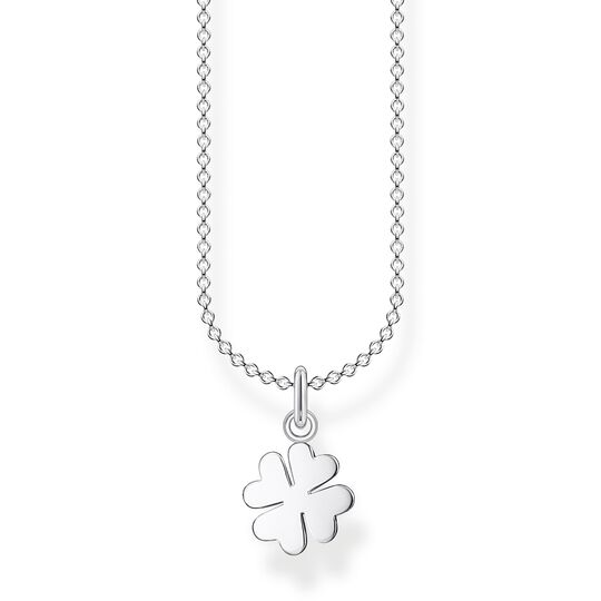 Necklace cloverleaf silver from the Charming Collection collection in the THOMAS SABO online store