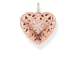 pendant heart medallion star pink from the Glam & Soul collection in the THOMAS SABO online store
