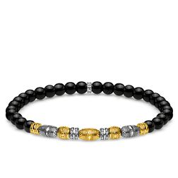 bracciale Talismano bicolore nero from the Glam & Soul collection in the THOMAS SABO online store