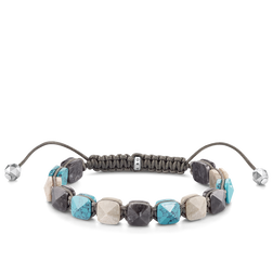 "bracelet ""turquoise Studs"" from the Glam & Soul collection in the THOMAS SABO online store"