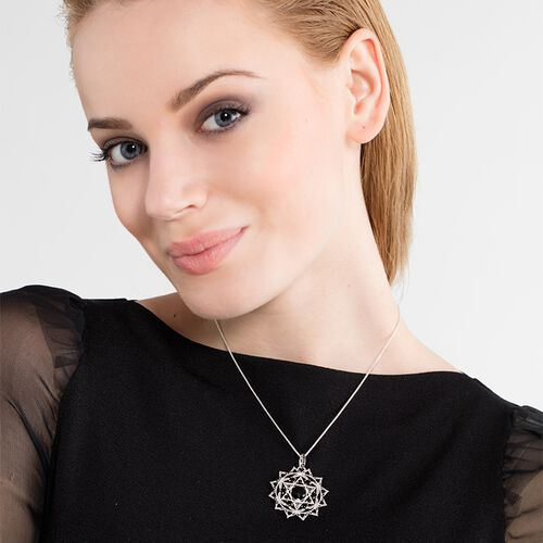 """pendant """"black heart chakra"""" from the Chakras collection in the THOMAS SABO online store"""