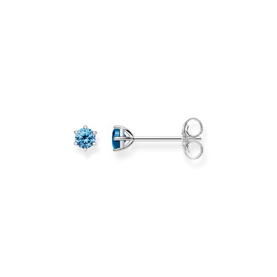 """ear studs """"light-blue stone"""" from the Glam & Soul collection in the THOMAS SABO online store"""