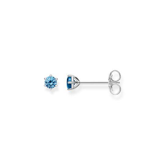 """pendientes """"piedra azul claro"""" de la colección Glam & Soul en la tienda online de THOMAS SABO"""