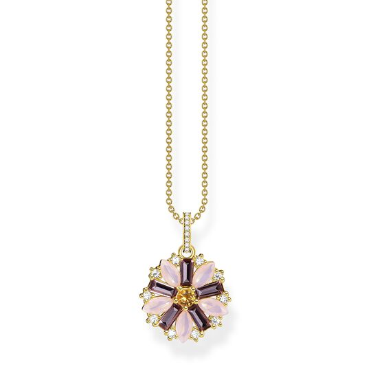 Necklace flower gold from the  collection in the THOMAS SABO online store