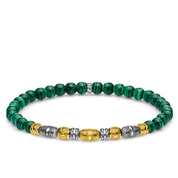 bracelet Two-tone lucky charm, green from the Glam & Soul collection in the THOMAS SABO online store