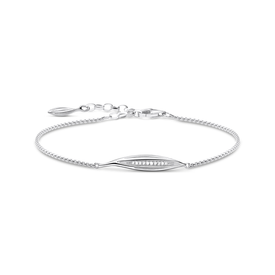 bracelet leaf silver from the Glam & Soul collection in the THOMAS SABO online store