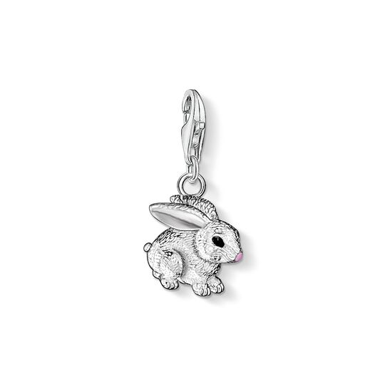Charm pendant rabbit from the Charm Club collection in the THOMAS SABO online store