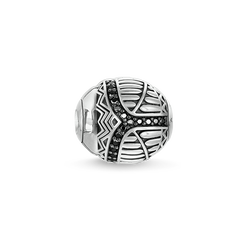 """Bead """"black scarab"""" from the Karma Beads collection in the THOMAS SABO online store"""
