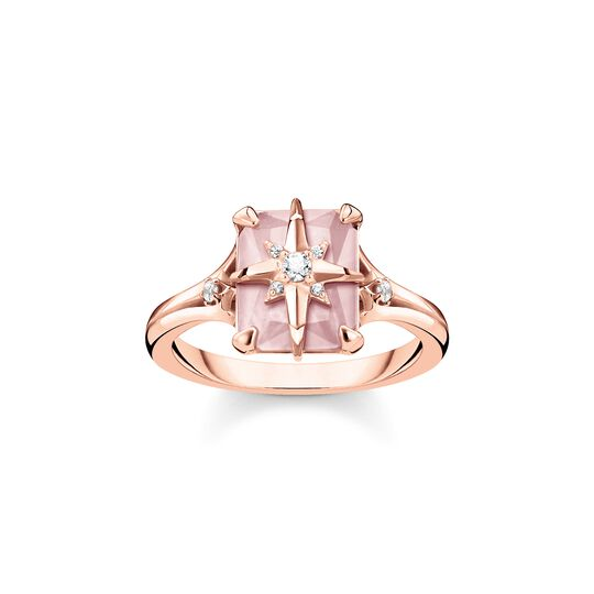 ring pink stone with star from the  collection in the THOMAS SABO online store