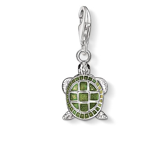 "Charm pendant ""tortoise"" from the  collection in the THOMAS SABO online store"