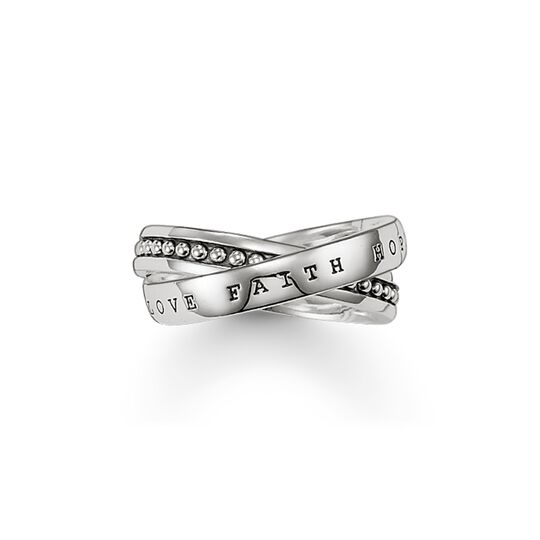 multiple ring faith, love, hope from the  collection in the THOMAS SABO online store
