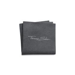Jewellery cleaning cloth 16 x 16 cm grey microfibre from the  collection in the THOMAS SABO online store