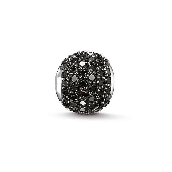 b0926fd339 Bead  quot black diamond pav eacute  quot  from the Karma Beads collection  in the