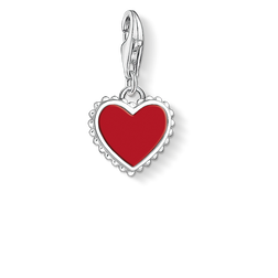 ciondolo Charm cuore rosso from the  collection in the THOMAS SABO online store