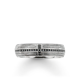 veretta croce con pavé from the Rebel at heart collection in the THOMAS SABO online store