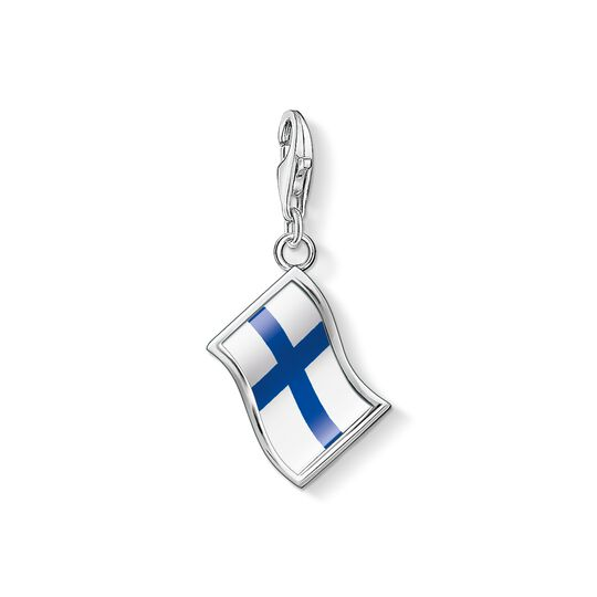 Charm pendant flag Finland from the Charm Club collection in the THOMAS SABO online store