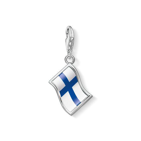 pendentif Charm drapeau Finlande de la collection Charm Club dans la boutique en ligne de THOMAS SABO