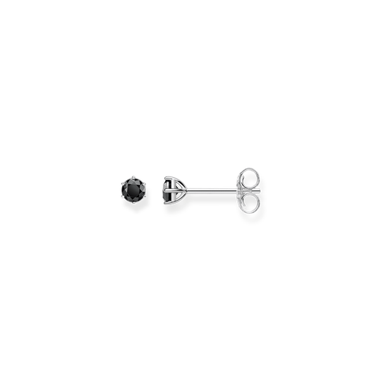 ear studs black stone from the Glam & Soul collection in the THOMAS SABO online store