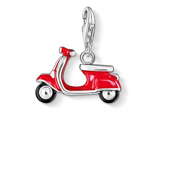 "Charm pendant ""red scooter"" from the  collection in the THOMAS SABO online store"