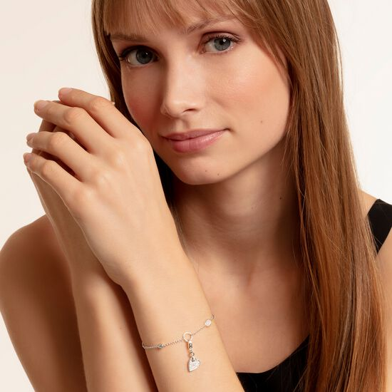 "ciondolo Charm ""cuore LOVE"" from the  collection in the THOMAS SABO online store"