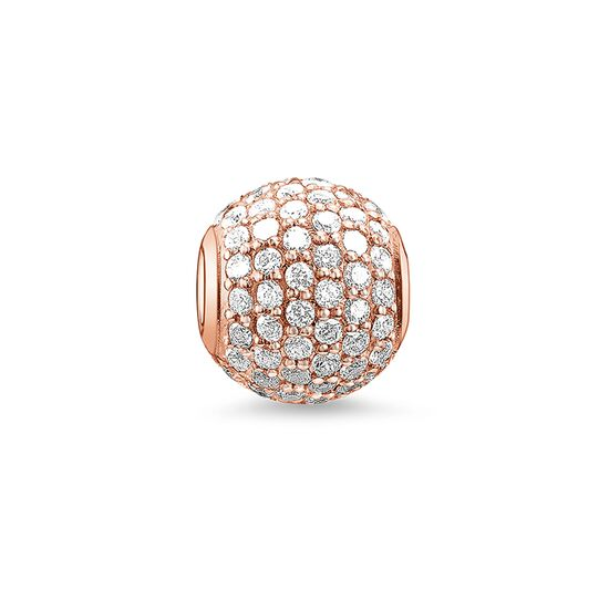 "Bead ""pavé"" from the Karma Beads collection in the THOMAS SABO online store"