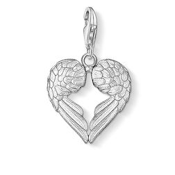 Charm pendant winged heart from the  collection in the THOMAS SABO online store