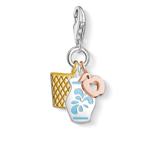 Charm pendant Frankfurt jug from the  collection in the THOMAS SABO online store