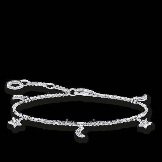 Bracelet étoile & lune argent de la collection Charming Collection dans la boutique en ligne de THOMAS SABO