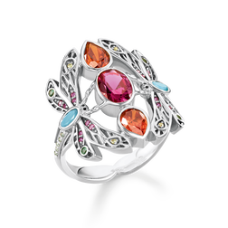 "anello ""libellula"" from the Glam & Soul collection in the THOMAS SABO online store"
